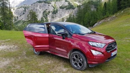 Ford Ecosport: ecco la trazione integrale intelligente