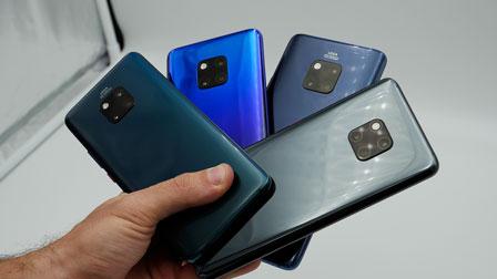 Huawei Mate 20 Pro ufficiale. Ecco l'anteprima del nuovo ''camera phone''