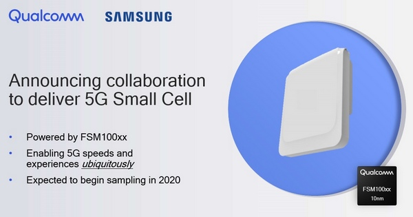 Qualcomm Samsung Small Cells 5G