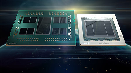 CPU EPYC a 64 core e schede Radeon Instinct a 7nm: il futuro di AMD passa dal datacenter