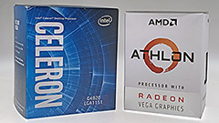 50€ per un processore: AMD Athlon 200GE vs Intel Celeron G4920