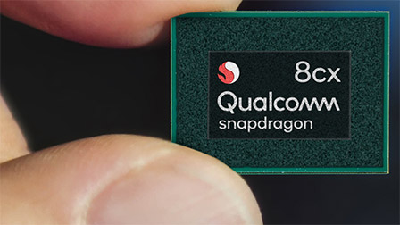 Qualcomm annuncia Snapdragon 8cx, per i notebook Windows always on del 2019