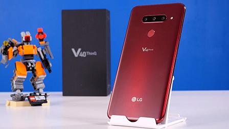 LG V40 ThinQ, un gran flagship... se fossimo nel 2018: la recensione