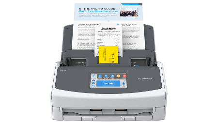 Fujitsu ScanSnap IX1500: scansioni a tempo di record per le PMI
