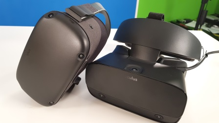 Recensione Oculus Rift S: grafica da PC Desktop in VR