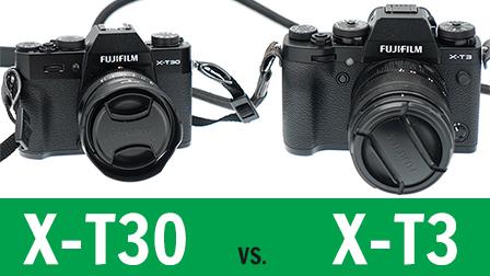 Fujifilm X-T3 vs. X-T30: quale comprare?