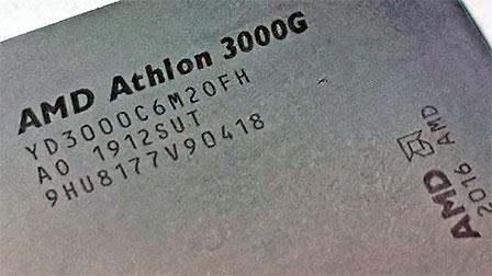 AMD Athlon 3000G: dual core economico ora anche per l'overclock