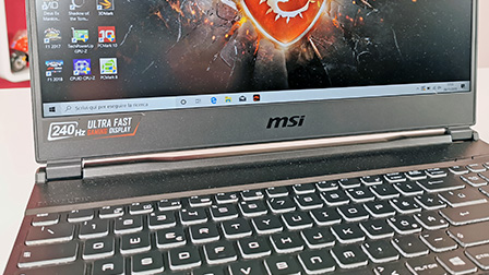 MSI GE65 Raider 9SF: GeForce RTX 2070 e schermo da 240Hz di refresh
