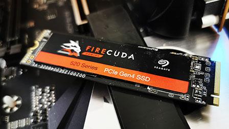 Seagate SSD FireCuda 520: PCIe Gen4, 5000MB/s (chiedendosi se c'è un senso)
