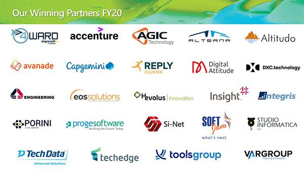 Microsoft Inspire 2020 Italia Partner