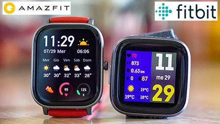 Amazfit Gts Contro Fitbit Versa 2 Quale Smartwatch Comprare Hardware Upgrade