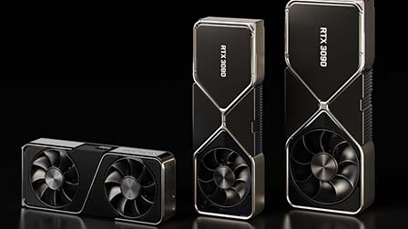 GeForce RTX 3090, RTX 3080 e RTX 3070: svelate le nuove schede video gaming di Nvidia
