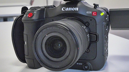 Canon EOS C70: la cinepresa digitale 4K mirrorless RF