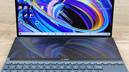 ASUS ZenBook Duo UX482: due schermi e tanta autonomia