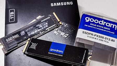 Samsung SSD 980 contro Goodram PX500, due low cost senza DRAM a confronto