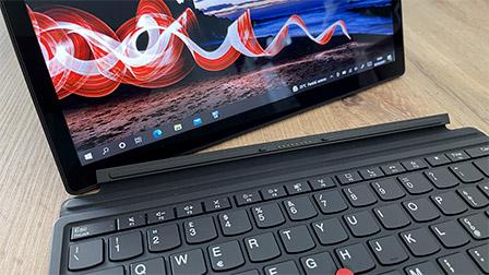 Lenovo ThinkPad X12 Detachable: il 2-in-1 di grande qualità