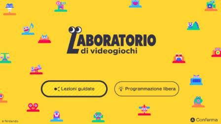 Laboratorio di Videogiochi: sviluppare giochi divertendosi con Nintendo Switch