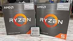 AMD Ryzen 7 5700G e Ryzen 5 5600G: GPU integrata con Zen 3