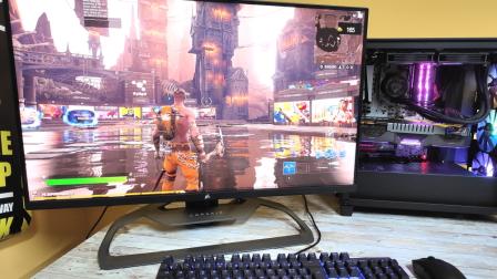 Xeneon 32QHD165, il primo monitor di Corsair: per gamer ma anche per creator