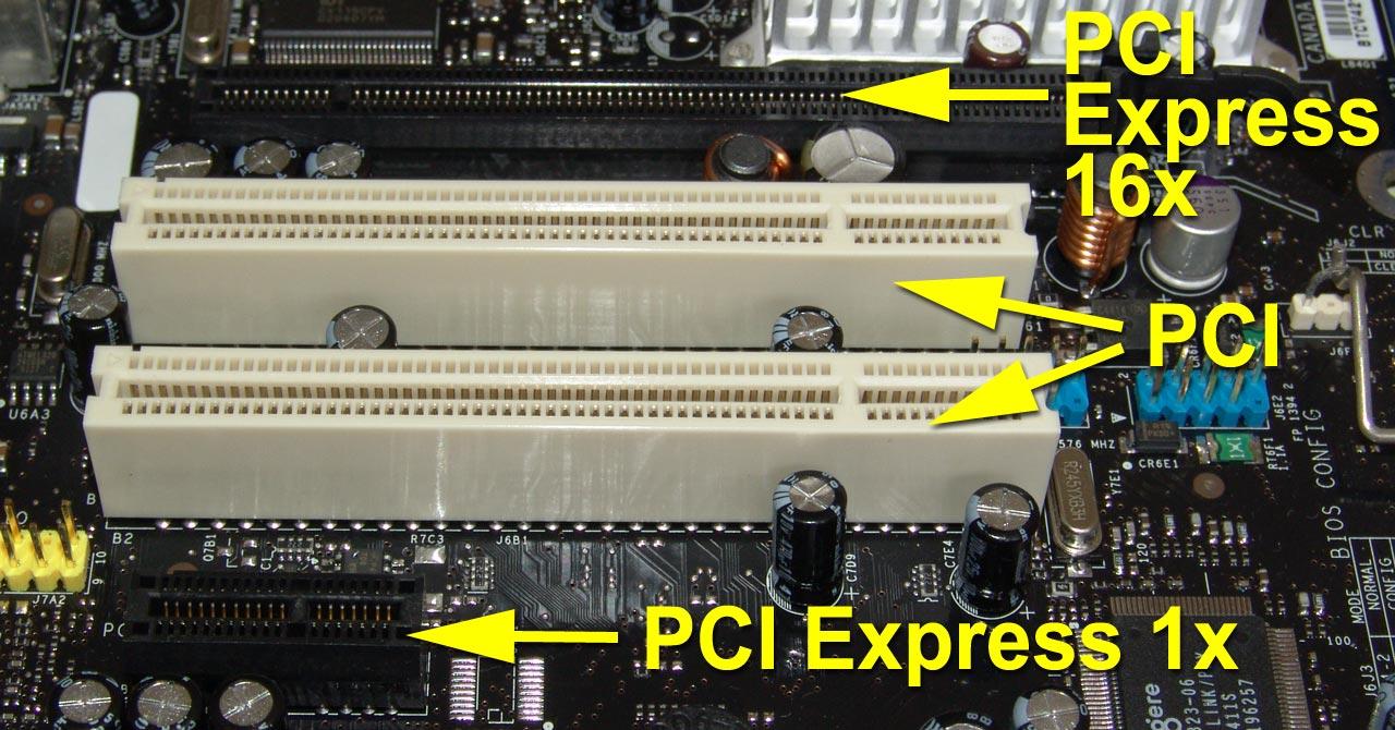 PC vs. Player Pci_pcie_confronto