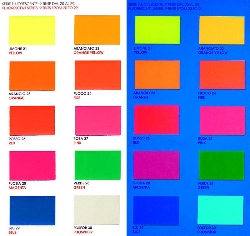 La for Colori fluo