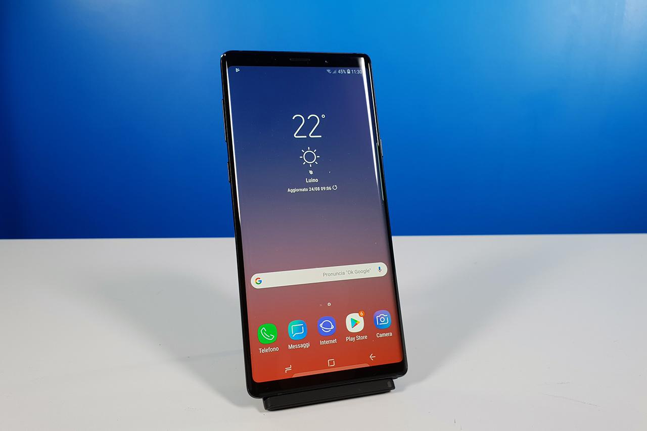 Recensione dello Smartphone Samsung Galaxy Note 9
