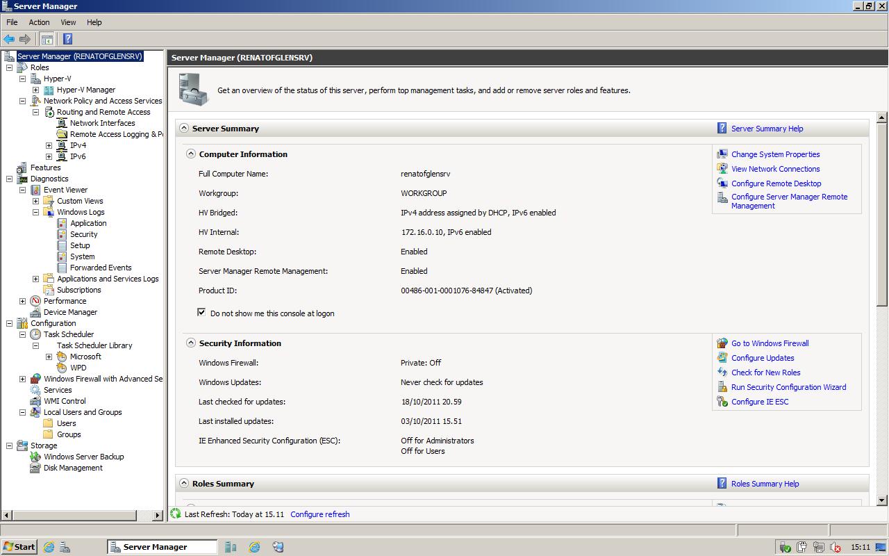 Windows Server 2008 R2 con SP1 | Download | Hardware Upgrade