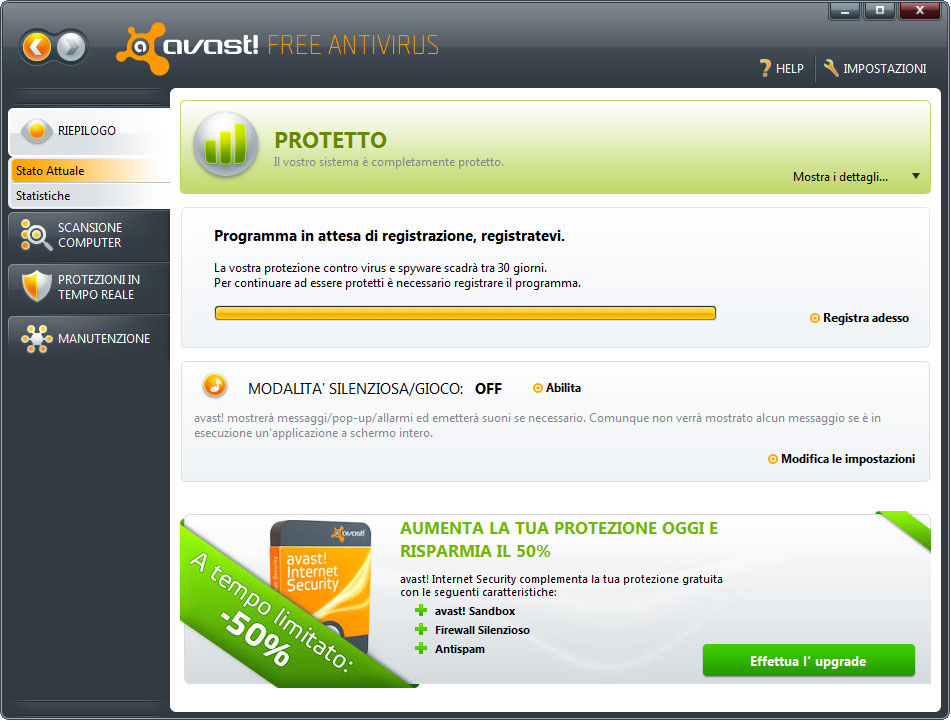 avast free antivirus update free download