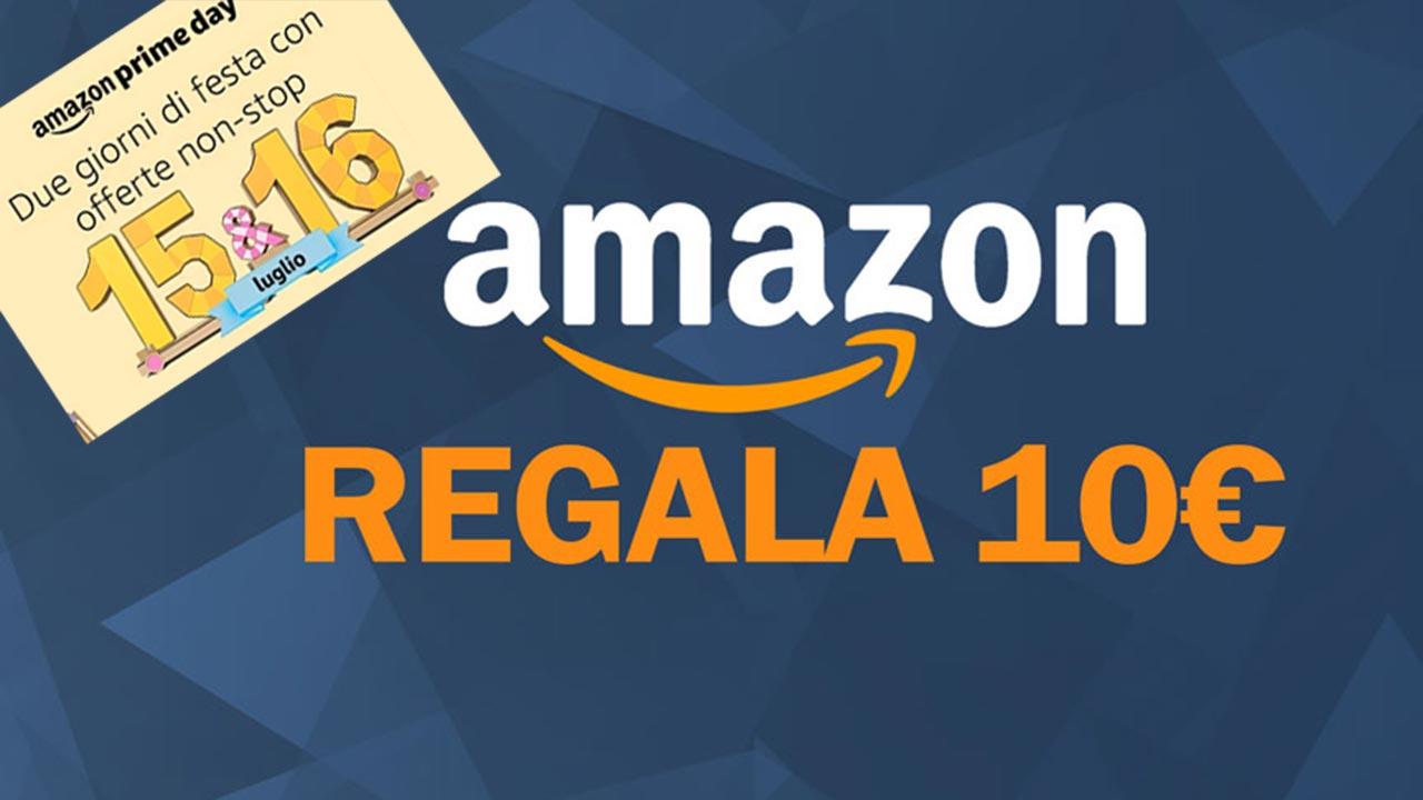 Buono Amazon da 5euro al prezzo di 10euro