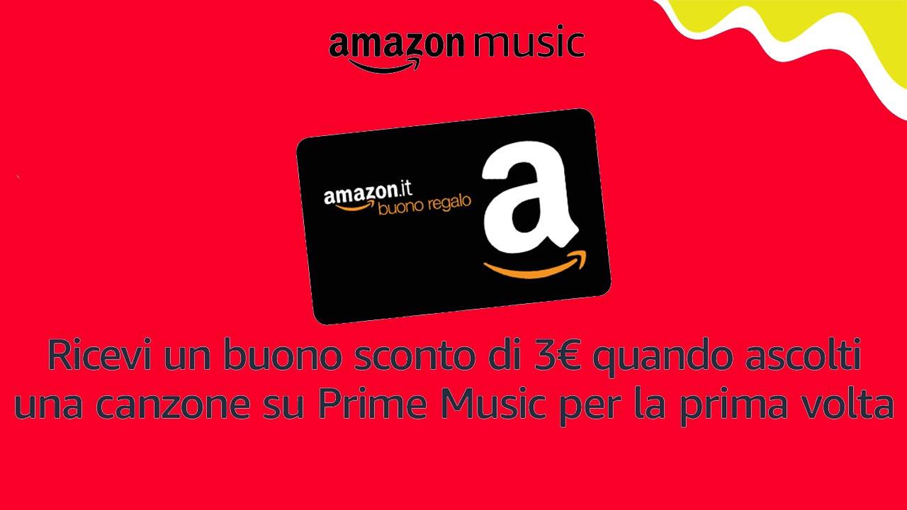 7abca510e1 Amazon: buono sconto di 3€ solo ascoltando una canzone su Amazon Music.  Ecco come averli | Hardware Upgrade