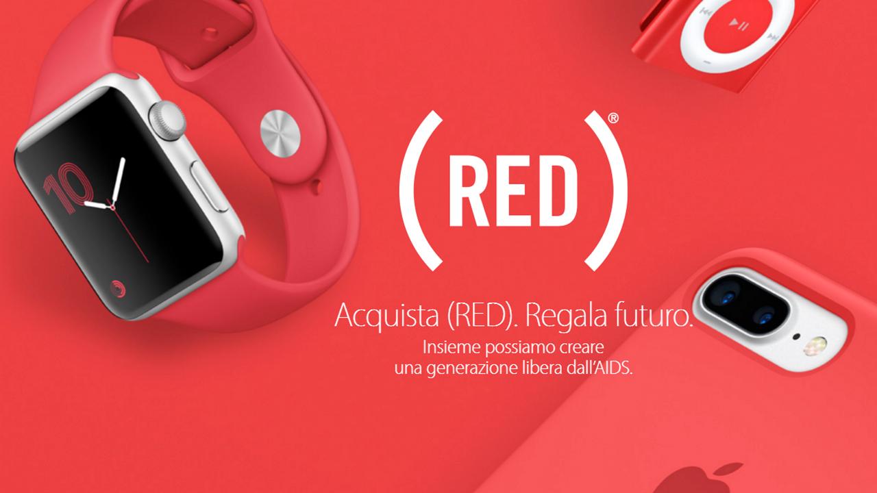 """Apple si """"veste"""" di (RED) per la Giornata Mondiale contro l'AIDS"""