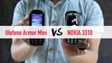 Ulefone Armor Mini contro Nokia 3310: ecco il video confronto tra i due ''low cost''