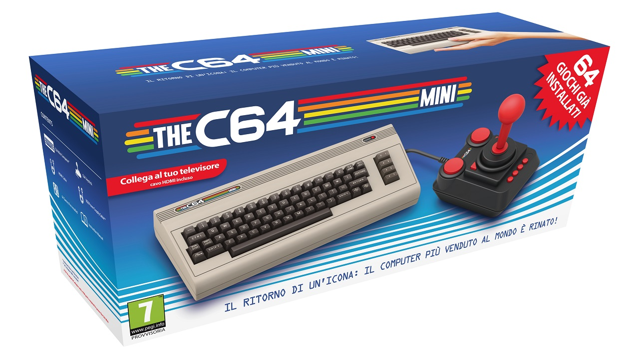 THE C64 in arrivo una nuova versione a grandezza naturale del Commodore 64: data d'uscita e nuovo trailer