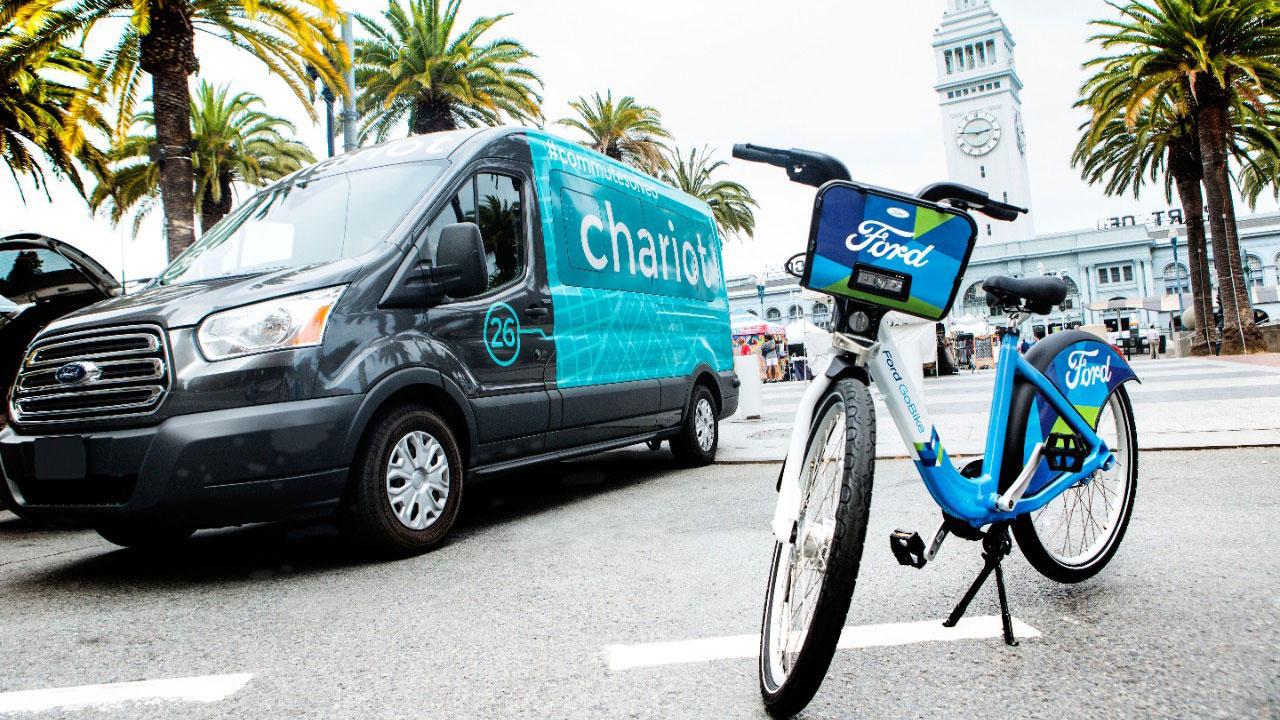 Biciclette e pulmini nel futuro di Ford per rispondere alle esigenze della mobilità di domani