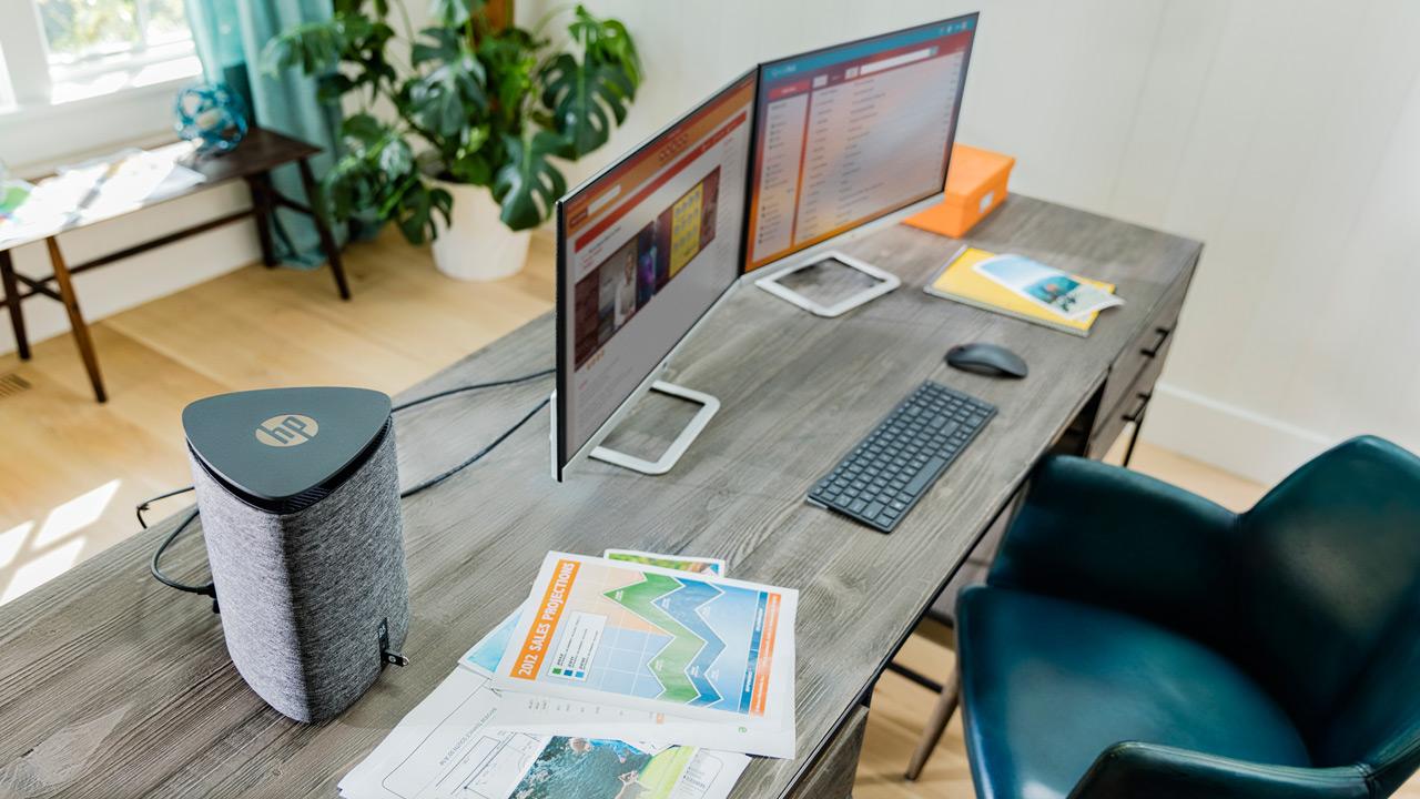 HP presenta Pavillion Wave ed Elite Slice, PC compatti per ogni impiego
