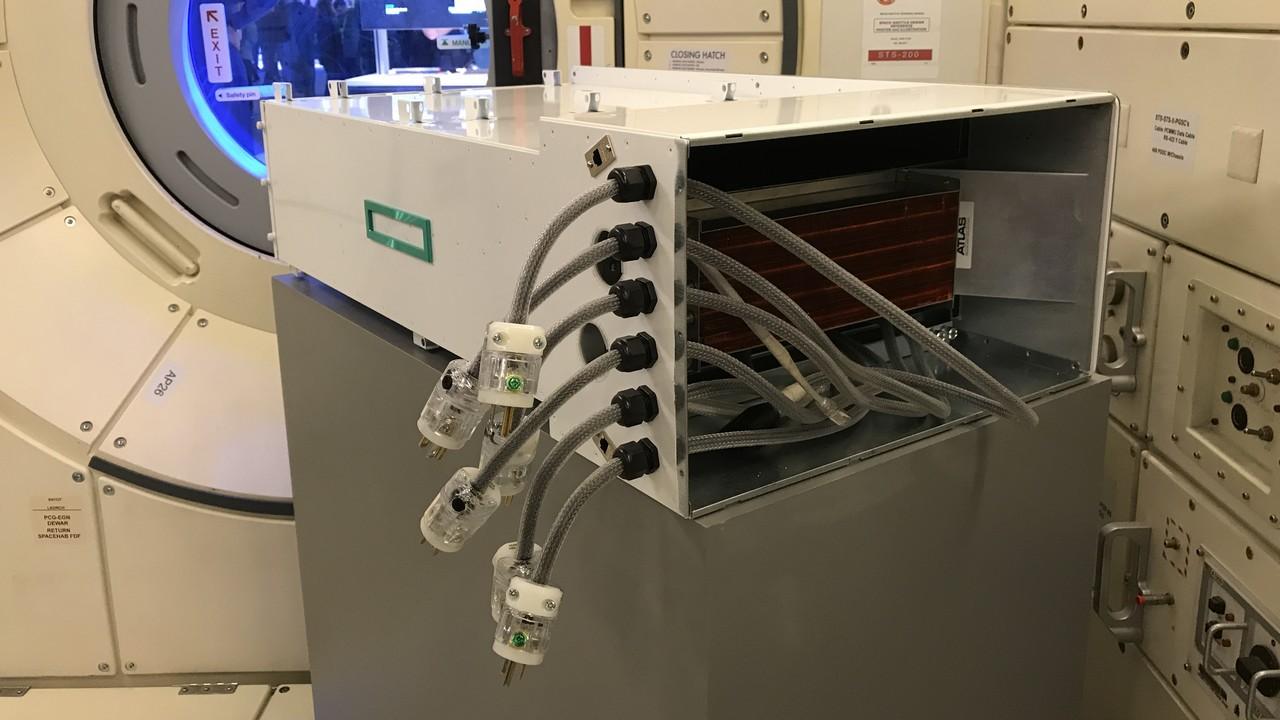 HPE: i calcoli dei supercomputer arrivano sulla ISS