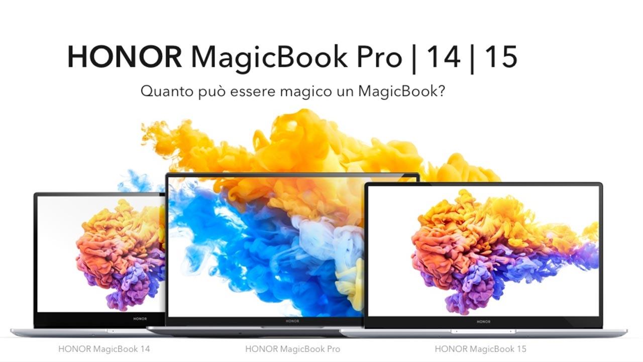 HONOR MagicBook Pro arriva in Italia! So …
