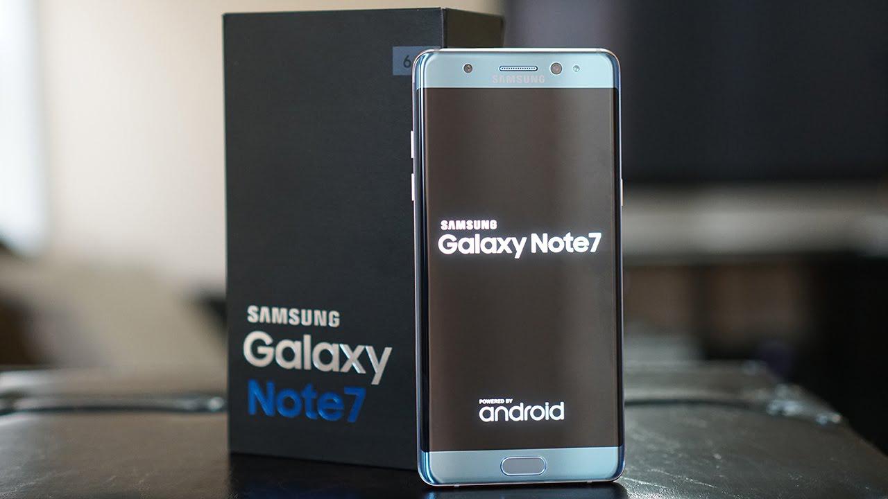 Samsung potrebbe riproporre i Galaxy Note 7 ricondizionati nel 2017