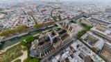 Notre Dame: una foto ad altissima risoluzione fa vedere da vicino cos'è rimasto dopo l'incendio
