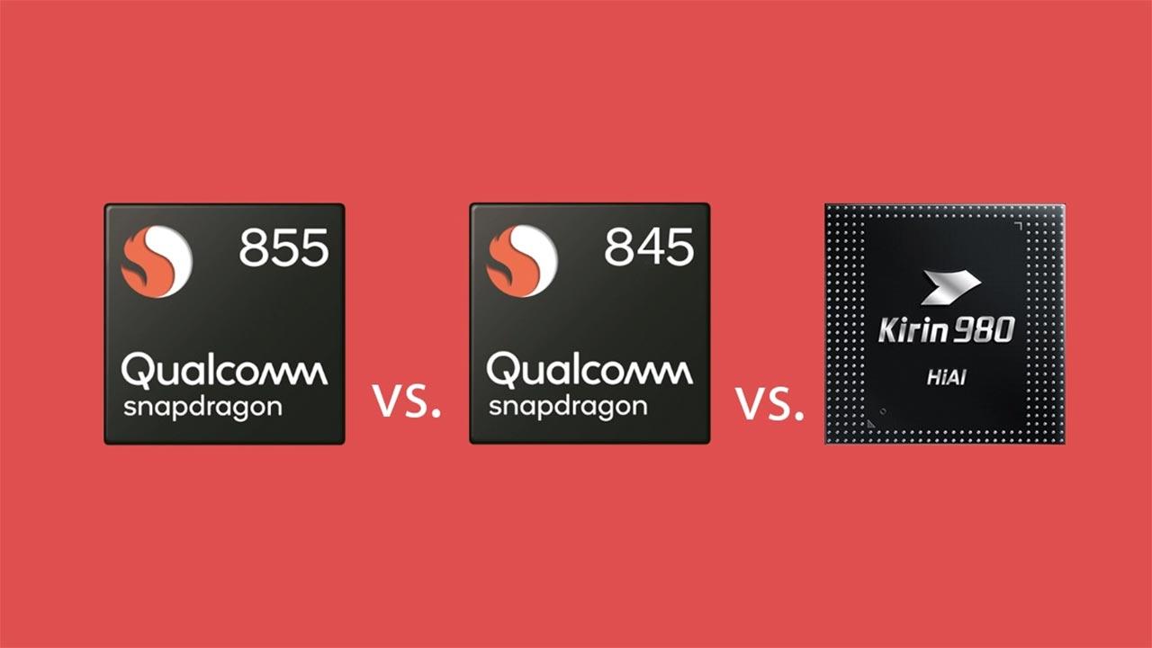 Snapdragon 855 a confronto con tutti gli altri processori