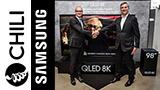 Samsung e Chili portano lo streaming 8K sui TV QLED 8K