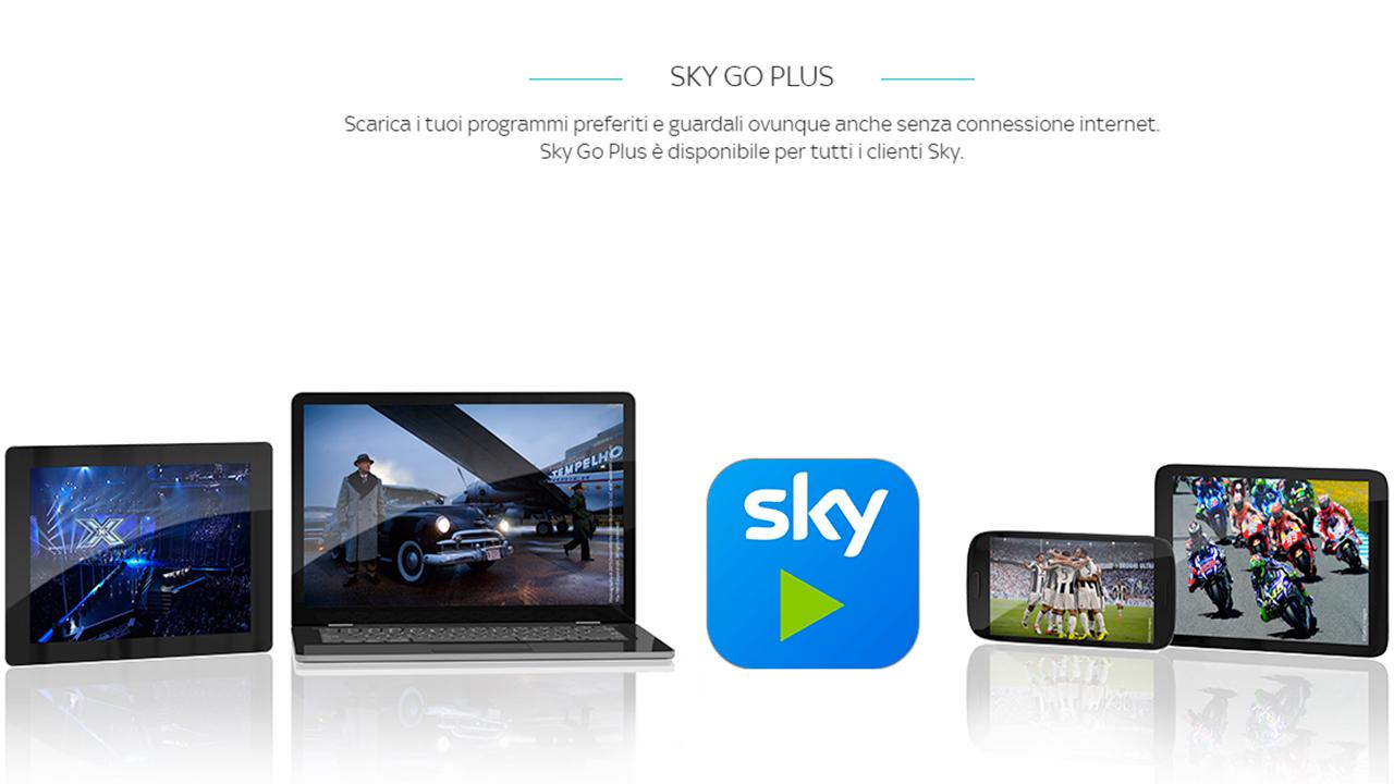 """Sky Go Plus: il nuovo modo di vedere la TV con la funzionalità """"Download & Play"""""""