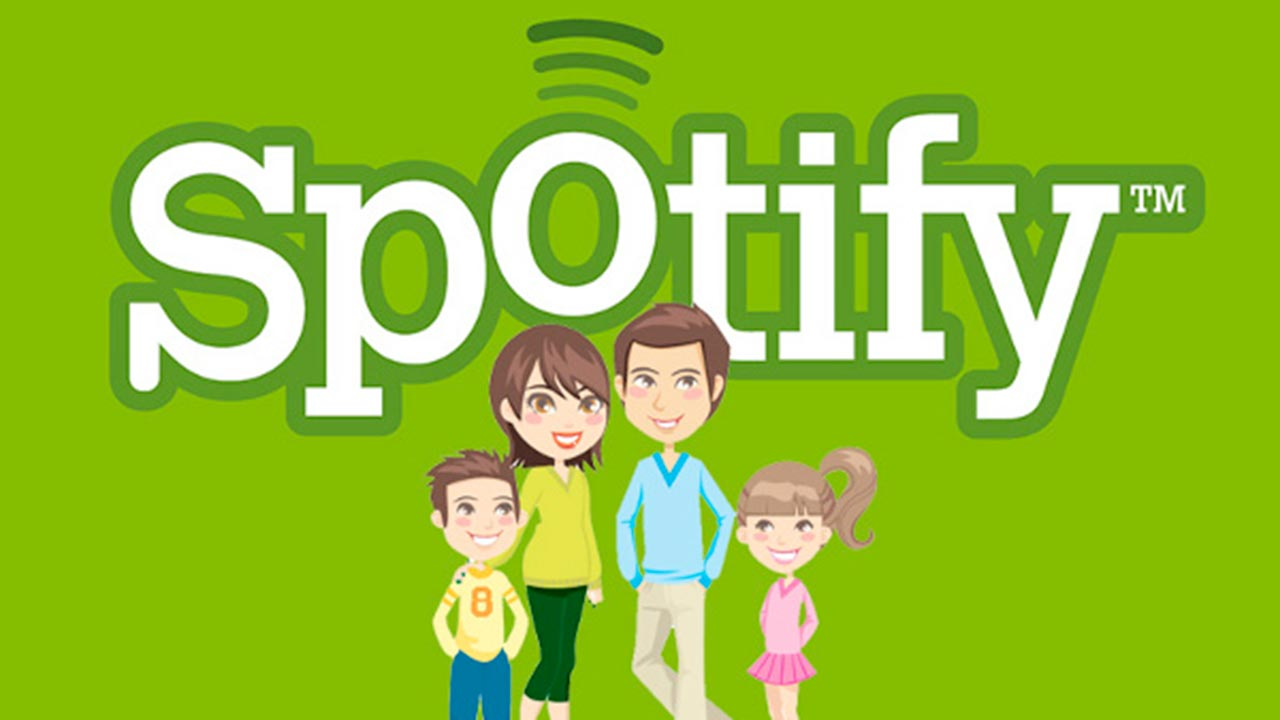 spotify family con amici