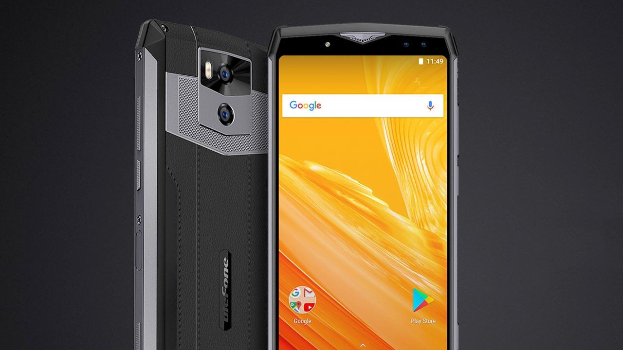 ulefone power 5 lo smartphone con una batteria da 13 000