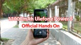 Ulefone Power 5: il primo video hands on dello smartphone con 13.000 mAh di batteria