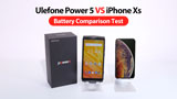 Ulefone Power 5 contro iPhone XS: ecco il video test sull'autonomia dei due device