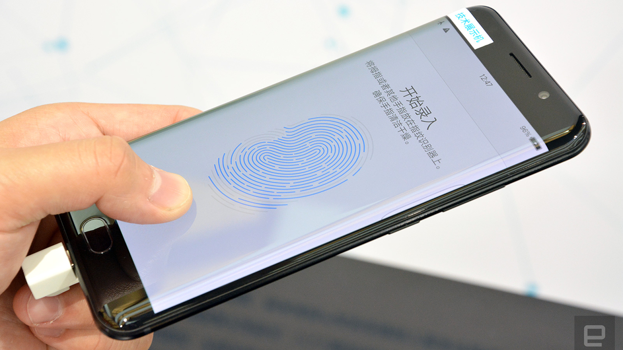 Vivo avrà il primo smartphone con lettore di impronte digitali sotto lo schermo