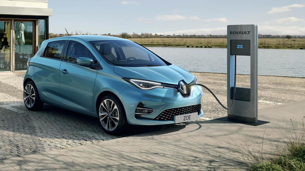 La Zoe verso fine carriera: la Renault 5 …
