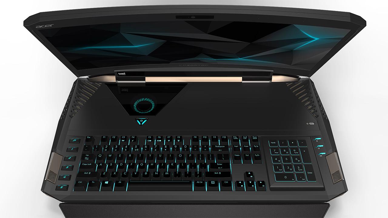 Predator 21 X è il primo notebook gaming con schermo curvo