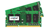 Kit memorie Crucial SO-DIMM 16GB (2x8 GB), DDR3, 1600 MHz, in offerta su Amazon a 48,80 Euro